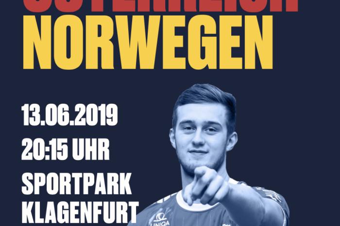 EHF EURO CUP: Österreich - Norwegen in Klagenfurt